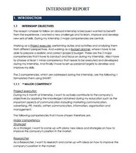How To Write Internship Report In Resume by Internship Report