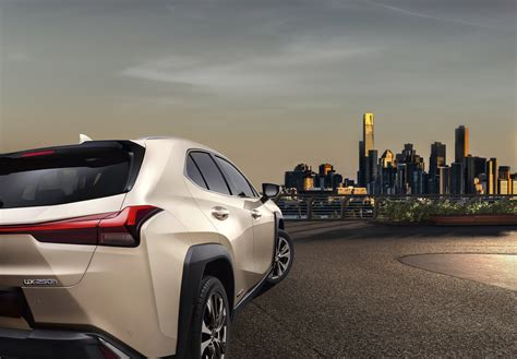 lexus reveals   ux suv model