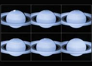 Hubble Telescope Saturn