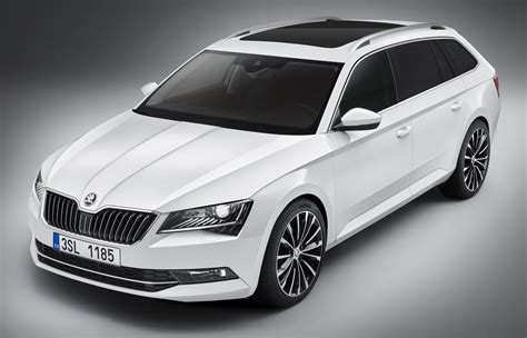skoda superb 2015 2015 skoda superb combi revealed to debut in frankfurt