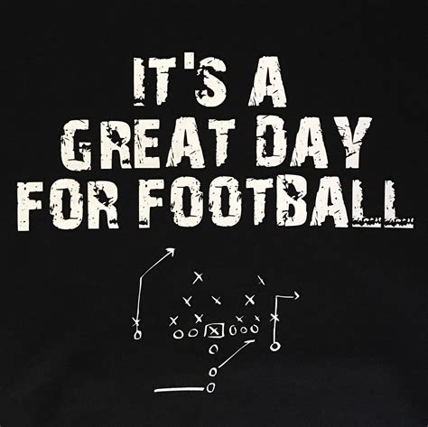 cool gifts for football fans its a great day for football hoodie pullover great gift for