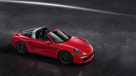 The Porsche 911 Targa 4 Gts With Black Rims And More Power