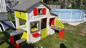 Maison Pour Enfant : maison pour enfant smoby mod le friends house avec cuisine youtube ~ Teatrodelosmanantiales.com Idées de Décoration