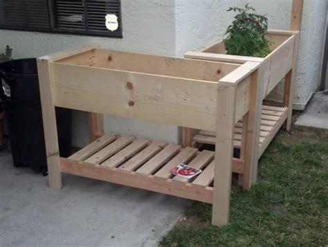 raised planter boxes on legs iimajackrussell garages