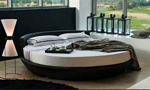 20 incredible round bed designs for your bedroom With round sofa bed ikea