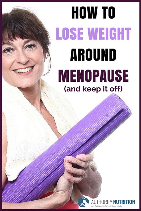 lose weight  menopause
