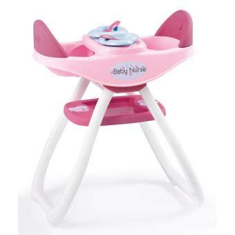 chaise haute jumeaux chaise haute jumeaux baby smoby accessoire poupée