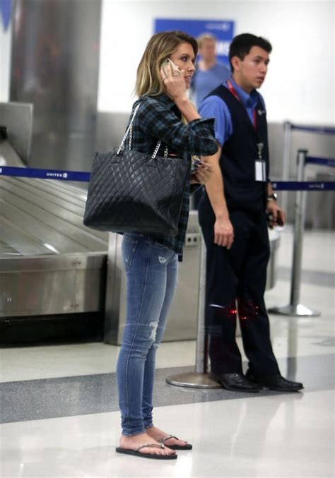Audrina Patridge Street Style Lax Airport December
