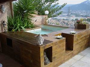 petite piscine pour terrasse 1 mini piscine en bois 183 With petite piscine pour terrasse