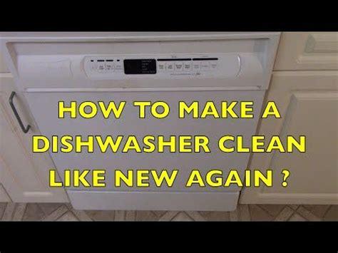 ge profile dishwasher maintenance youtube ge profile dishwasher clean dishwasher