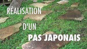 Allée De Jardin Pas Cher : comment poser un pas japonais bricolage maison jardin ~ Premium-room.com Idées de Décoration