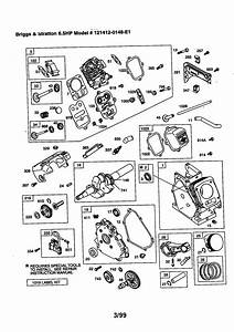 Briggs  U0026 Stratton 6 5 Hp Engine Parts