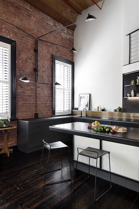 oxford street apartment featuring  industrial aesthetic