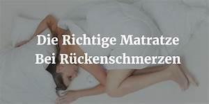 Matratzen Gegen Rückenschmerzen Test : die richtige matratze bei r ckenschmerzen matratzen guru ~ Orissabook.com Haus und Dekorationen