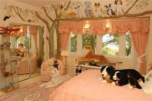 20 jungle themed bedroom for kids rilane for Dog room furniture