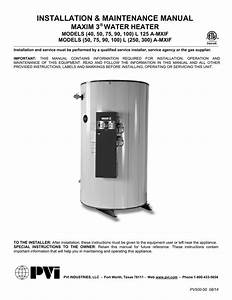 Pvi Industries Maxim Integrated Water Heating System