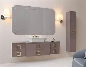 high end bathroom vanities decofurnish With how high should a bathroom vanity be