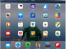 My iPad Home Screen Smore Newsletters for Education