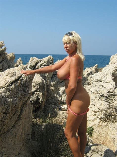 Nathalie French Milf Blonde Amateur Bigtits Mature France