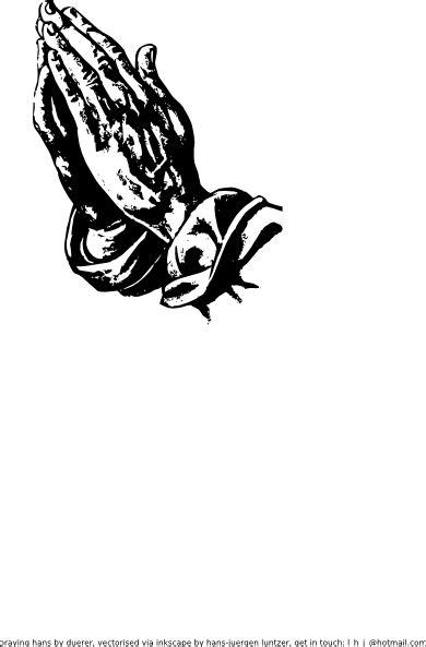 Religious Hands Clip Art at Clker.com - vector clip art