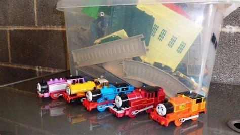 Trackmaster Tidmouth Sheds Playset by The Tank Engine Friends Trackmaster Tidmouth