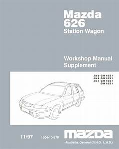 Mazda 626 Gw 11  1997 Wiring Diagram