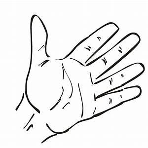 Open Hand Clipart