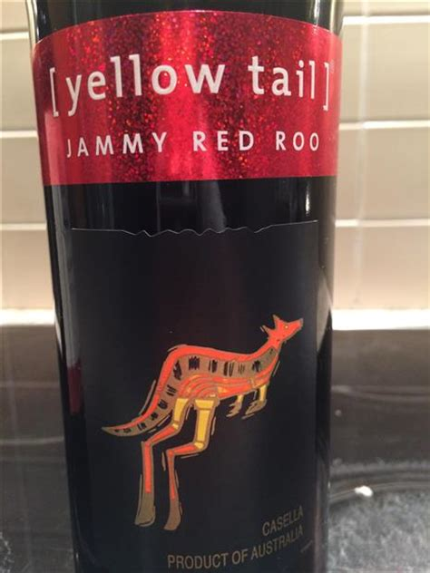 nv yellow tail jammy red roo australia south eastern