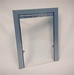 3 sided acrylic exterior kennel dog door 143 215 range for Plexiglass dog door