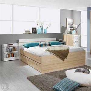 Doppelbett 180x200 Weiß : bettanlage bondy bett doppelbett nachttisch in buche natur wei 180x200 ~ Frokenaadalensverden.com Haus und Dekorationen