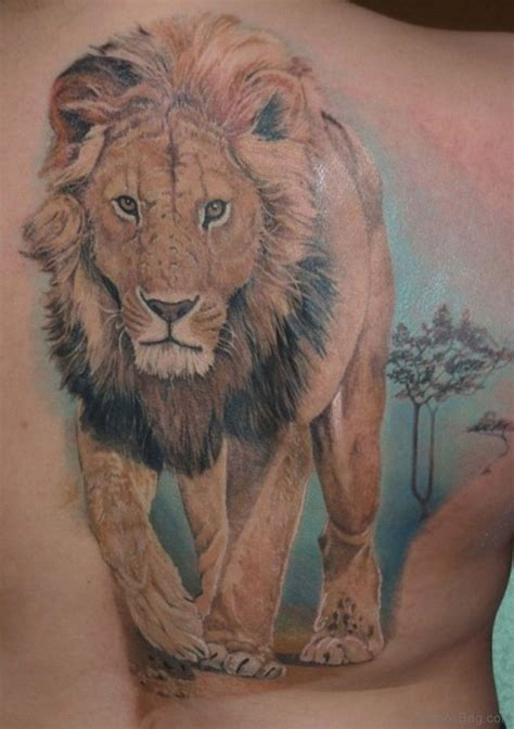 wonderful lion tattoos