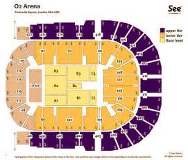 O2 London Seating Plan Related Keywords & Suggestions - O2 ...