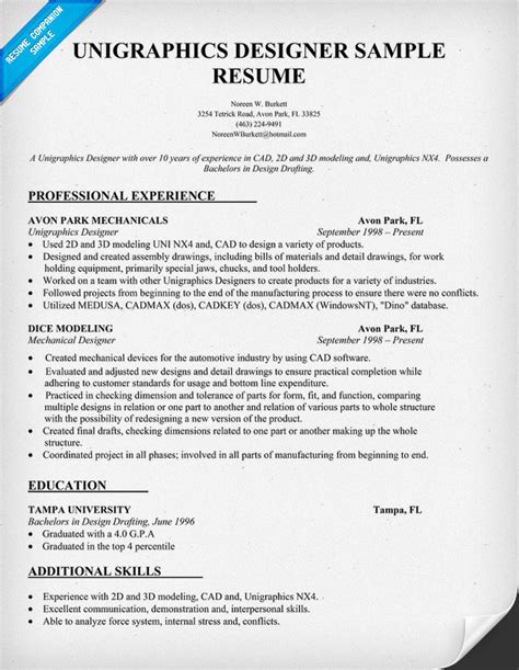 Resume For 3d Modeler by 3d Modeler Resume Objective