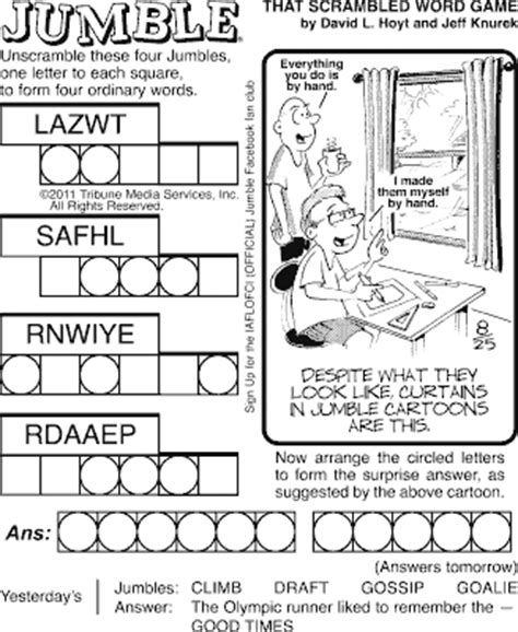 In almost any part of this entire world. Free Printable Jumble Puzzles for Adults That are Dynamic   Roy Blog