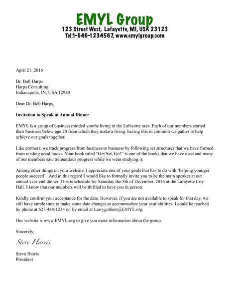 invitation letter conference archives sle invitation letter