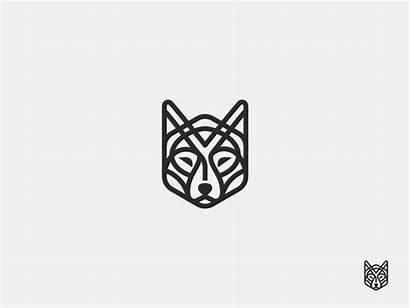 Wolf Line Tattoo Logos Graphic Tattoos Animal