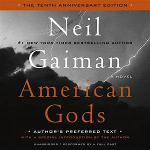Download American Gods Audiobook by Neil Gaiman for just $5 95
