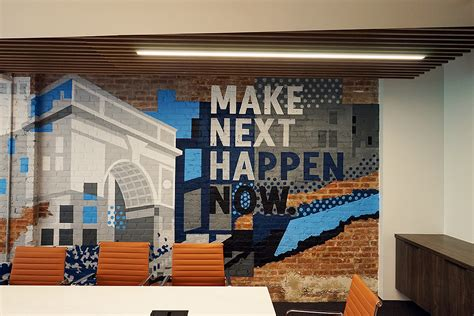 office mural  silicon valley bank  nyc graffiti usa