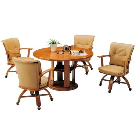 dining room sets  chairs  casters home furniture