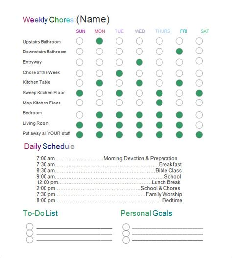 chart template   printable word excel
