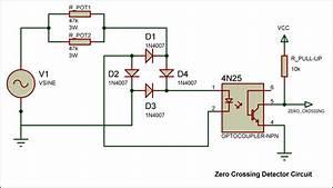 Zero Crossing Detector Circuit  Zcdc