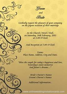 wedding invitation samples free download view enlarged With wedding invitations samples 2016