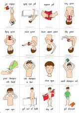 visual schedule for showering 1000 images about hygiene tips for special needs on
