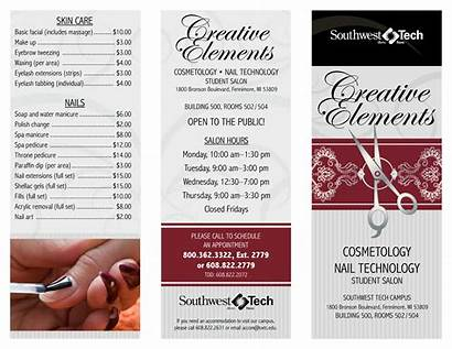 Salon Creative Template Elements Templates Examples Samples