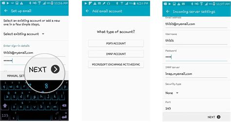 samsung account android how to set up your email in samsung mail android central