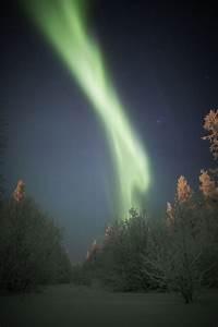 Winter Lights Aurora The Magic Of The Russian North Polar Lights Near Novy