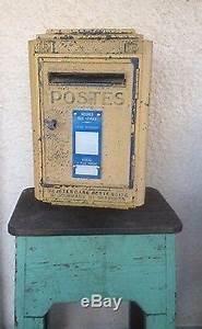 Aux Portes De La Deco : boite aux lettres ptt la poste r forme loft d co de 1961 ~ Nature-et-papiers.com Idées de Décoration