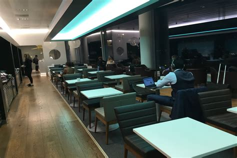 Review British Airways Business Class Lounge, Amsterdam