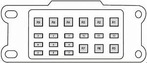 Ford Ranger T6  2011 - 2018  - Fuse Box Diagram