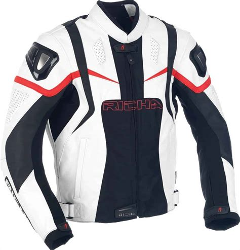 jaket kulit motor bikers sport balap ninja harley cross